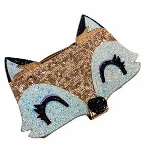 NEW iPhone 6 7 8 Phone Case Glitter Sequin Fox